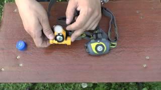видео фонаря Fenix HL30