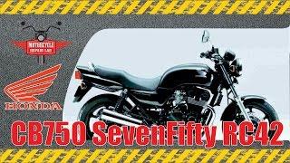 Honda CB 750 провернуло вкладыш шатуна (увеличенная яркость)