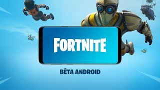 BÊTA ANDROID DE FORTNITE | DISPONIBLE