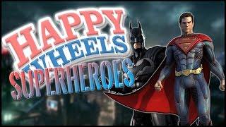 Happy Wheels: SUPERHERO SUPER-SLAM!