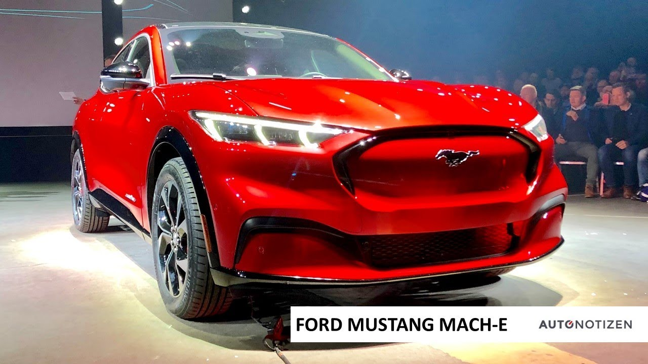 2020 Ford Mustang Mach E Pics