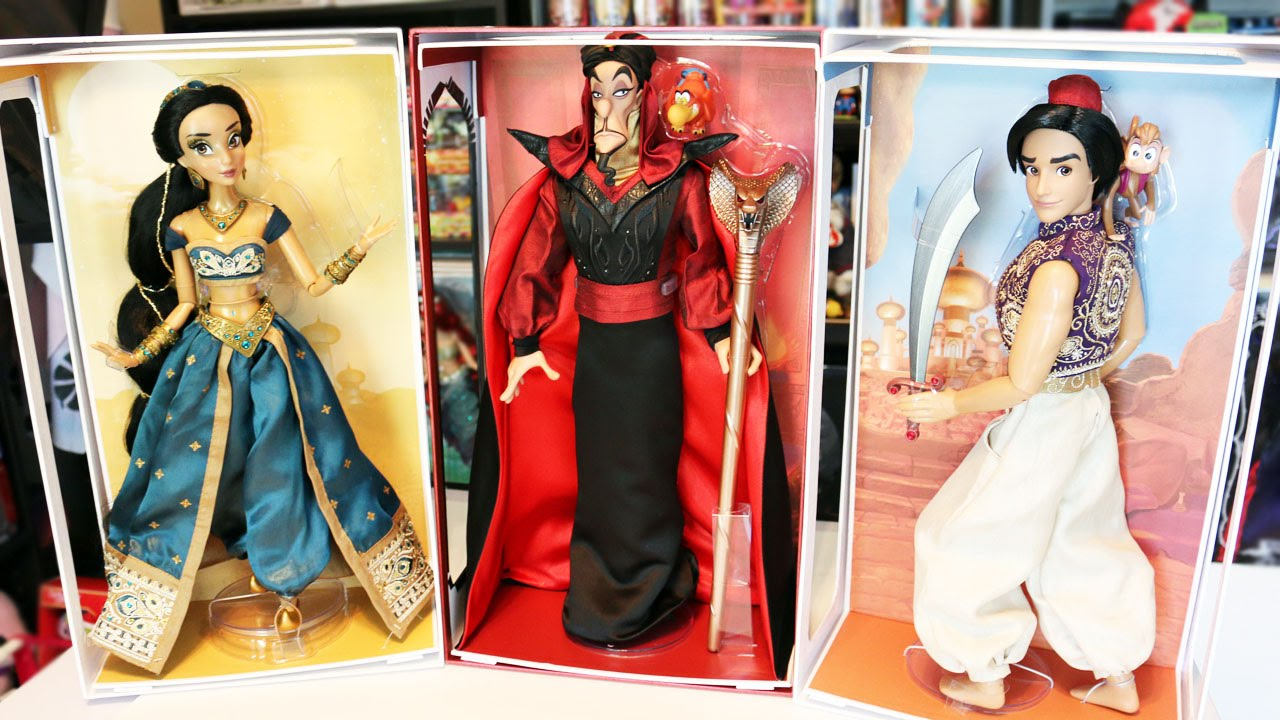 Disney Limited Edition Dolls Collection Aladdin Princess Jasmine And Jafar Review You