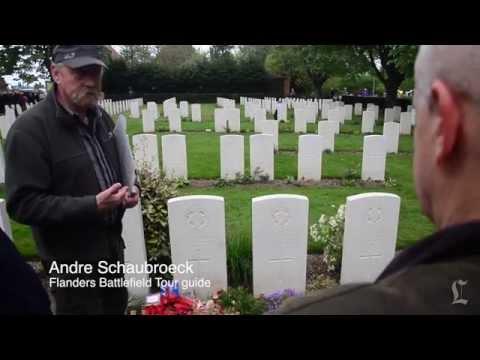 Flanders Fields, Belgium, 100 years after World War I: A Minute Away