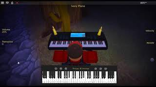 Megalovania - Undertale by: Toby Fox on a ROBLOX piano. [I'm done now.]