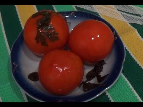 Как посолить помидоры в кастрюле простым посолом