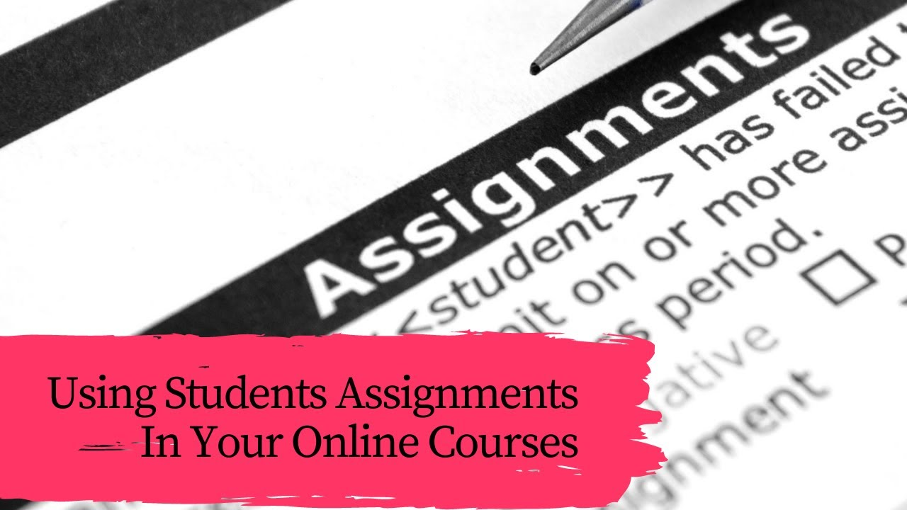 Using Student Assignments in your Online Course [Thinkific tutorial]