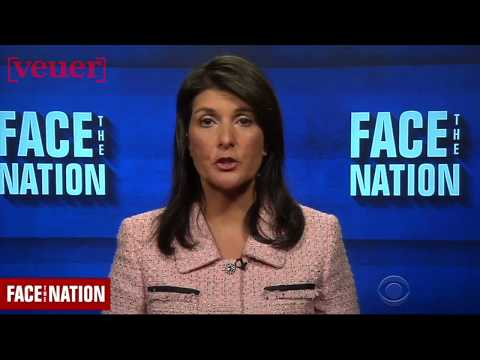Nikki Haley: U.S. Imposing More Sanctions on Russia Over Alleged Syria Chemical Attack