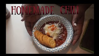 Bon Appetit!-Homade Chili Recipes-Perfect for winter!