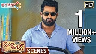 Jr NTR Powerful Fight | Warning to Unni Mukundan | Janatha Garage Telugu Movie Scenes | Samantha