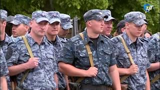 Новгородские полицейские вернулись из командировки на Северный Кавказ