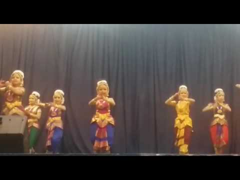Anwitha  Guruvayoor arangettam (Alaipayuthey)