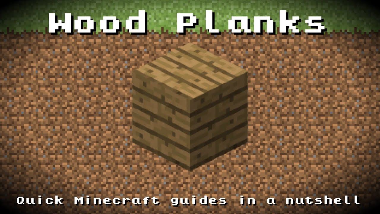 Minecraft wood planks recipe item id information up