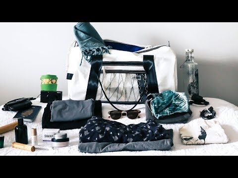 What's in my Bag? | Minimal & Eco Travel Essentials
