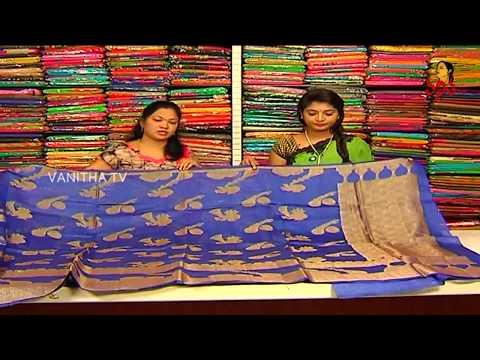 Musical Instrument Design Pure Lenin Fabric Saree || New Arrivals || Vanitha TV