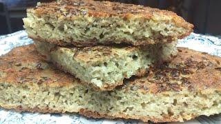 Вкуснейший кето хлеб в сковороде Быстрый LCHF рецепт
