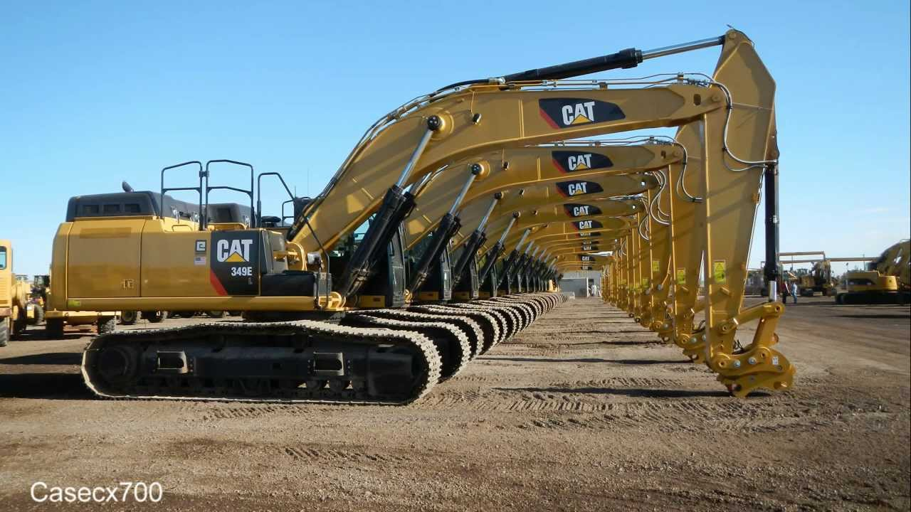 New CAT 349EL Excavator Walkaround