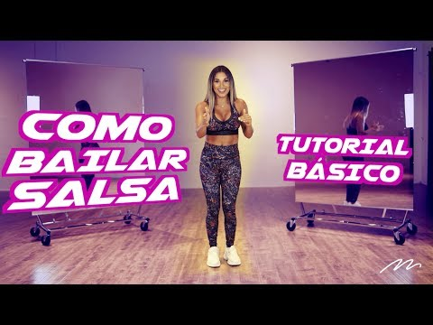 How to Dance Salsa / Aprende a Bailar Salsa | Magga Braco tutorial