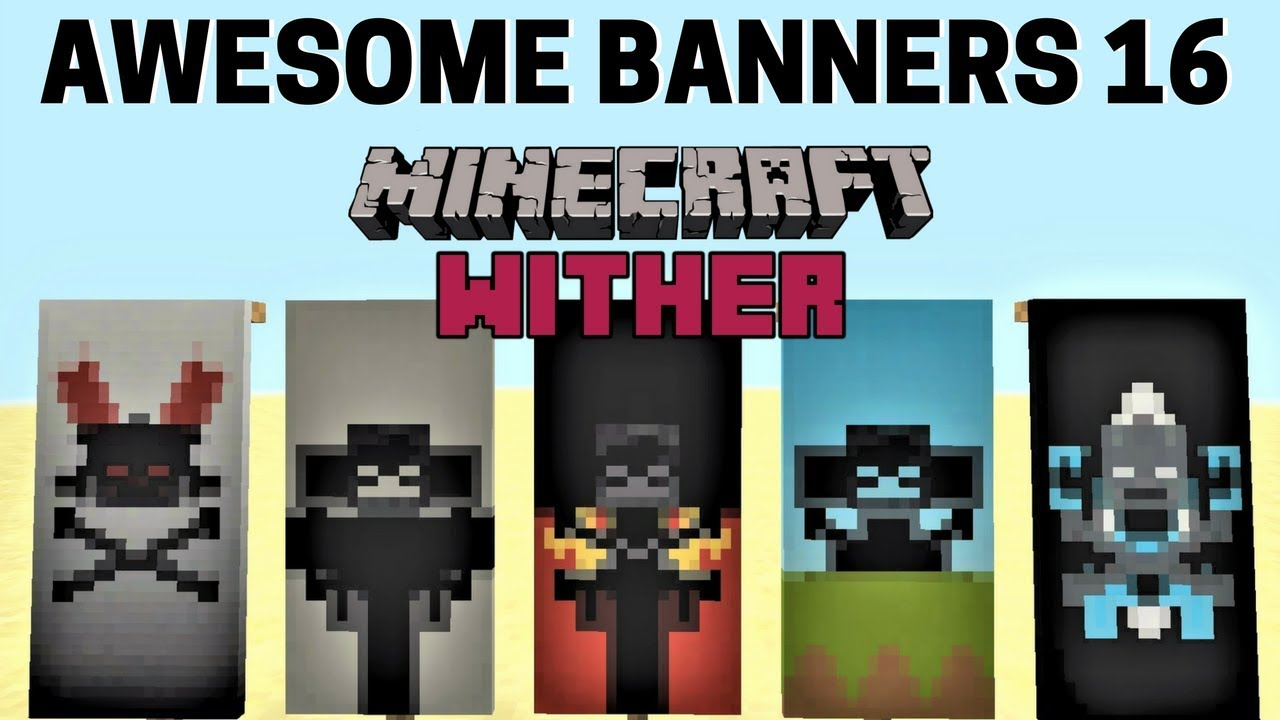 5 Awesome Minecraft Banner Designs With Tutorial 16 Youtube