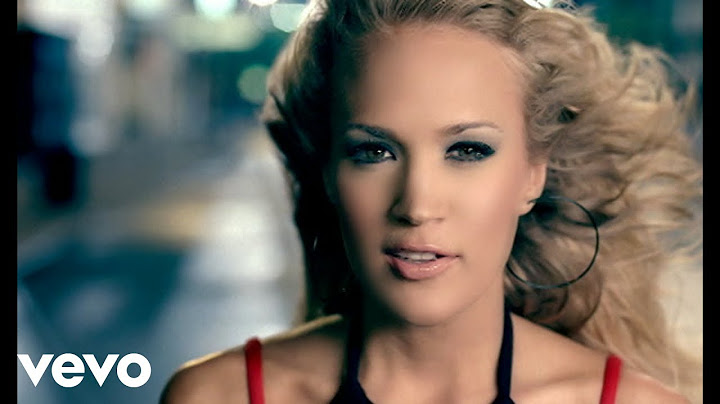 carrie underwood  before he cheats official video