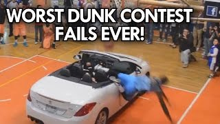 WORST DUNK CONTEST FAILS EVER! TOP 6 WORST DUNKS!