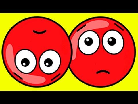 Новый КРАСНЫЙ ШАР #11. 29-30 УРОВНИ.  Мультик ИГРА New Red Ball 2