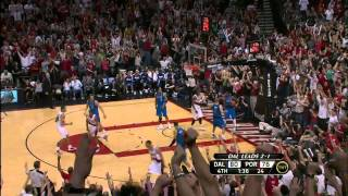 Brandon Roy leads the comeback vs Mavs (2011 Playoffs G4) - Reupload