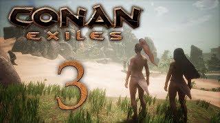 Conan Exiles - прохождение игры на русском - Сложности строительства [#3] | PC