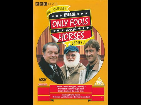 Opening & Closing Of BBC Only Fools & Horses Complete Series 7 Part 2 (Comedy 1990/1991)(DVD UK)