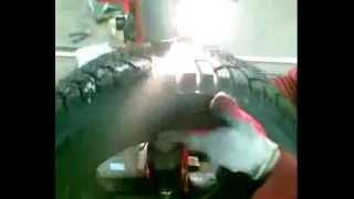 Как шипуют резину в сервисе - Das Tatarstan(Наш