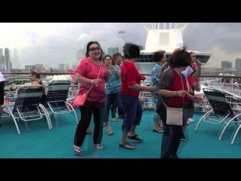 2014 CHHSN C/O 74' Cruise Reunion: Dancing on the ship