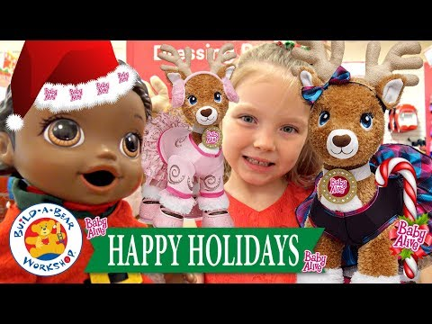 BABY ALIVE gets a HOLIDAY SURP happy friday eve