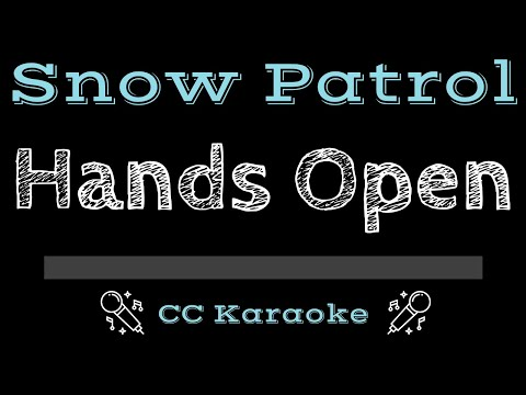 Snow Patrol   Hands Open CC Karaoke Instrumental
