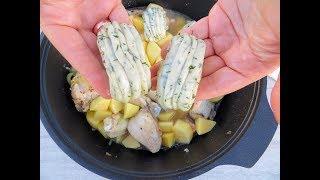 Прижмите тесто карандашом и получите шикарный ужин обед из простых продуктов / Steamed buns