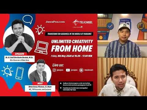Unlimited Creativity From Home With Emil Dardak