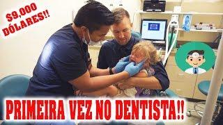 PRIMEIRA VEZ DA LULU NO DENTISTA!!
