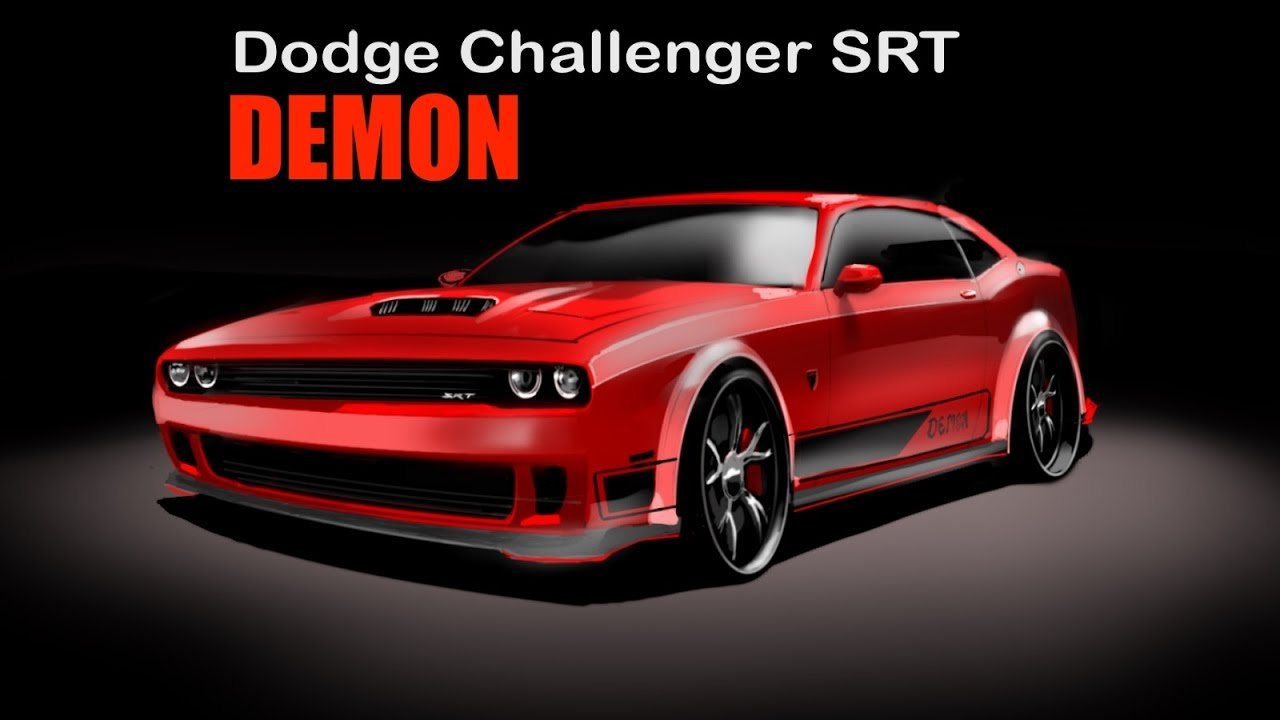 How to draw dodge challenger rt 2011 -  Dodge Challenger Demon How To Draw Desenho Industrial