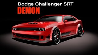 🇺🇸Dodge Challenger Demon 🇺🇸- HOW to DRAW - Sketch cars design