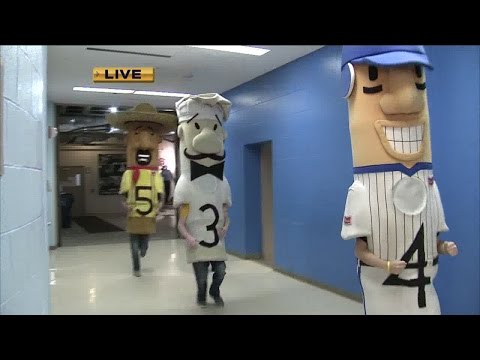 Klement's Famous Racing Sausages race through TODAY'S TMJ4