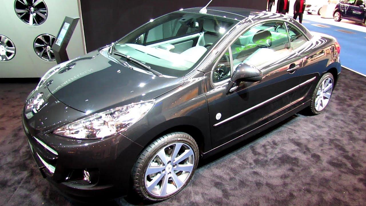 2014 peugeot 207cc convertible - exterior and interior walkaround