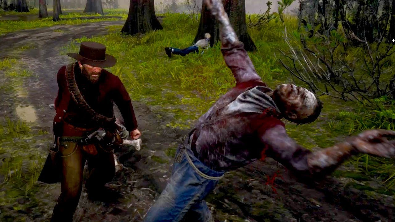 Zombies In Red Dead Redemption 2 Undead Nightmare Nite