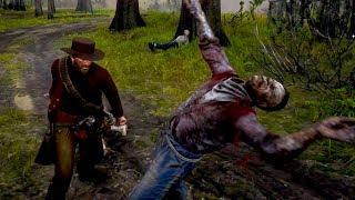 Zombies in Red Dead Redemption 2 (Undead Nightmare Nite Folk)