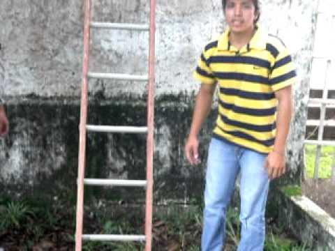 Trabajo seguro en alturas con escalera de mano youtube - Escaleras de mano ...