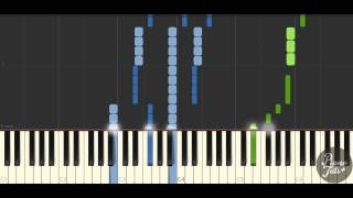 Little By Little - Kanashimi wo Yasashisani ( Naruto Season 3 Opening ) EASY Piano Tutorial