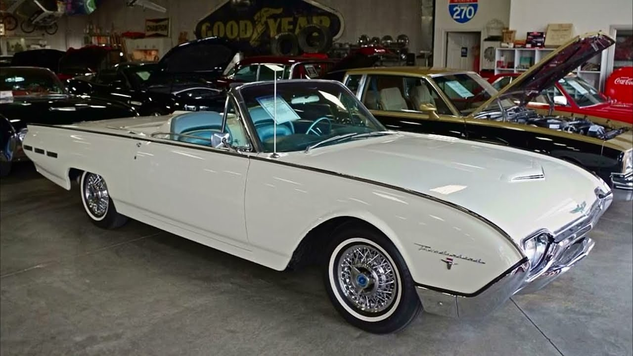 1962 ford thunderbird sports roadster 390 tri power v8. Cars Review. Best American Auto & Cars Review