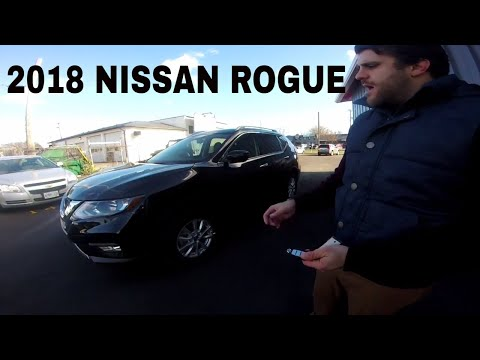 2018 Nissan Rogue SV AWD In-Depth Walk Around Review