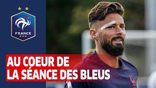 Au coeur de l'entraînement, Equipe de France I FFF 2020