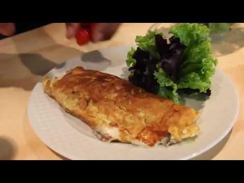 Omelette de Sardinas y Queso fresco - Momentos Puglisi