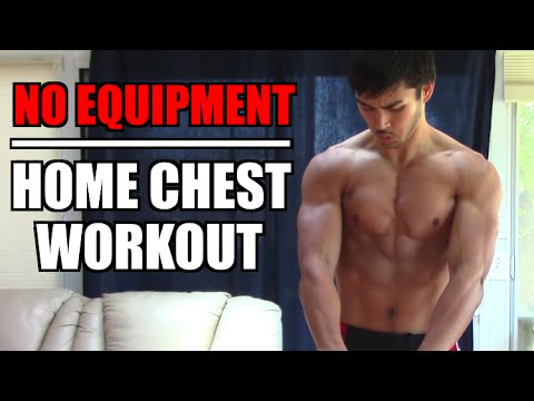 how to build your chest muscles at home