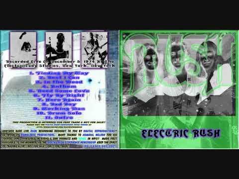 Rush- Electric Lady Studios, NY 12/5/74