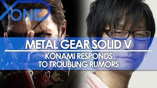 Metal Gear Solid V - Konami Responds to Troubling Rumors
